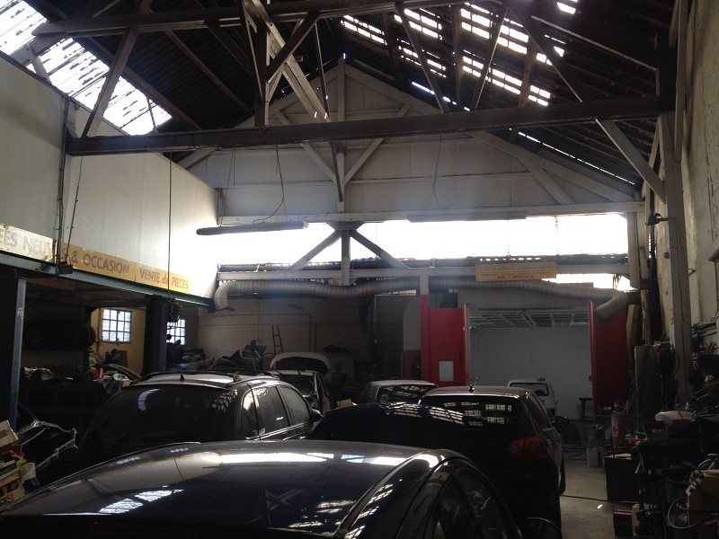 Vente fonds de commerce garage century 21 for Garage automobile saint denis